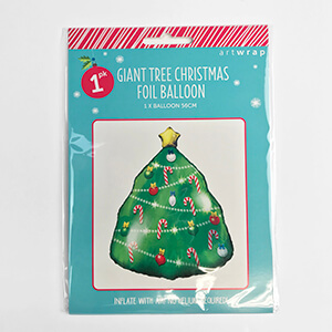 Giant Christmas Tree Foil Balloon