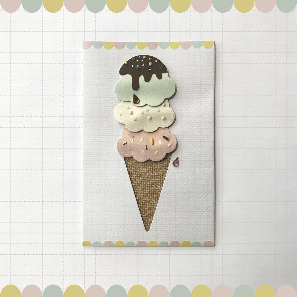 CARD COUTURE Ice Cream