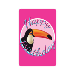 AG Birthday Toucan
