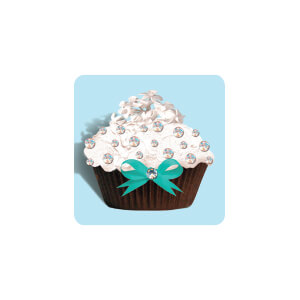 AG Blue Diamond Cupcake