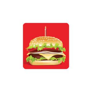AG Burger Cake