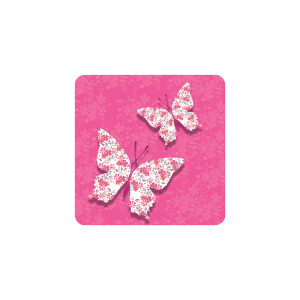 AG Pink Butterfly
