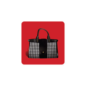 AG Red Background Handbag