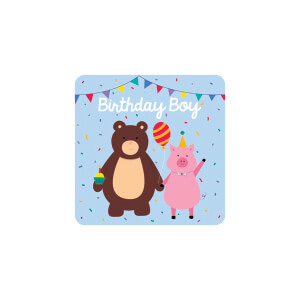 BLUESKY Birthday Bear and Pig