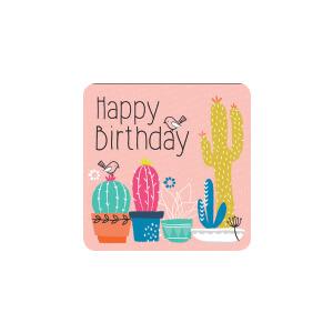 BLUESKY Birthday Cactus