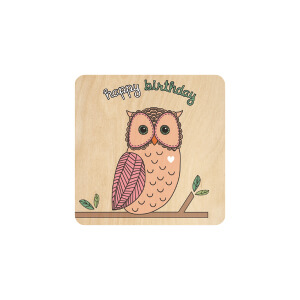 BLUESKY Birthday Owl