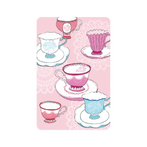 BLUESKY TALL Birthday Pink Teacups