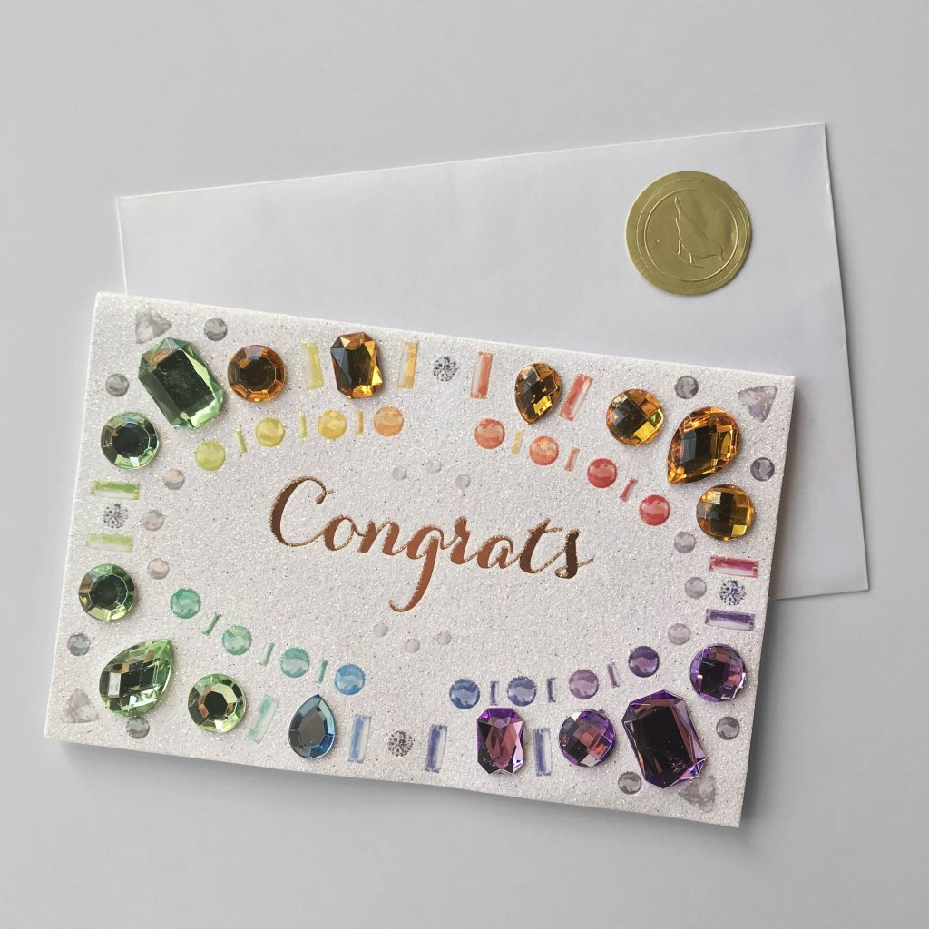 CARD COUTURE Congrats Gems