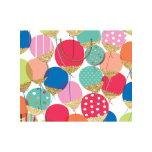 GIFT WRAPPING PAPER BOUTIQUE MED Balloons