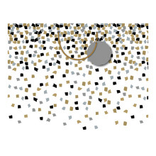 GIFT WRAPPING PAPER BOUTIQUE MED Formal Confetti