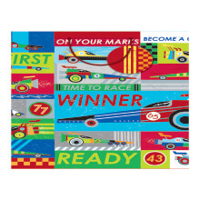 GIFT WRAPPING PAPER BOUTIQUW LARGE Cars