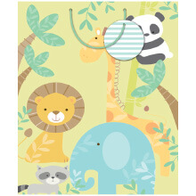 GIFT WRAPPING PAPER JUMBO Baby Animals