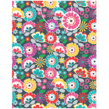 GIFT WRAPPING PAPER JUMBO Floral Flash