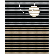 GIFT WRAPPING PAPER JUMBO Formal Stripe