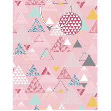 GIFT WRAPPING PAPER JUMBO Triangle Geo