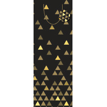 GIFT WRAPPING PAPER LARGE BOTTLES Triangles