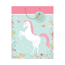 GIFT WRAPPING PAPER MED Unicorn