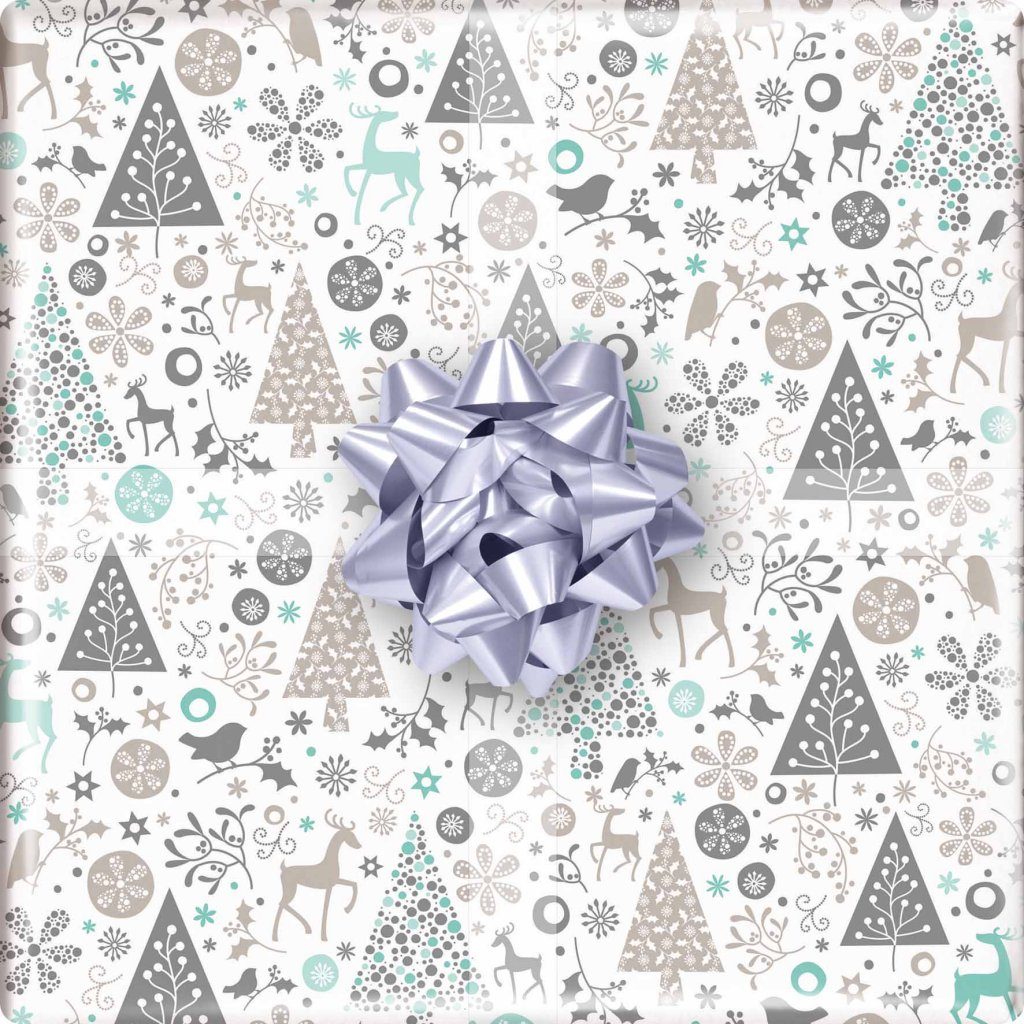 GIFT WRAPPING PAPER WRAP FLOURISH WRAP