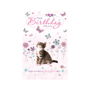 JORDAN Female Happy Bday Kitten