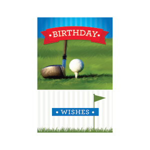 JORDAN Male Happy Bday Golf