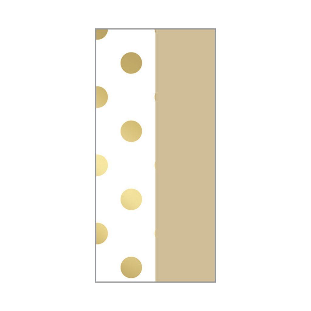 KRYSTAL FOIL STAMPED TISSUE GOLD