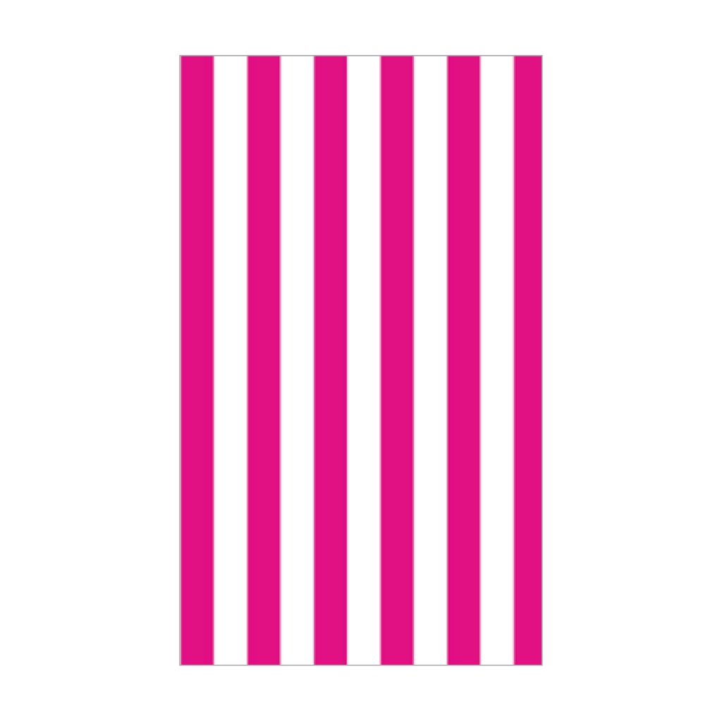 KRYSTAL PRINTED TISSUE HOT PINK STRIPE