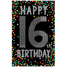 PREMIUM BIRTHDAY 16 Happy Birthday