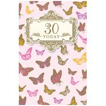PREMIUM BIRTHDAY Female 30 Butterflies