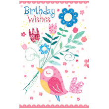 PREMIUM BIRTHDAY Female Bird Bouqet