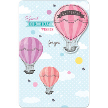 PREMIUM BIRTHDAY Female Hot Air Balloon