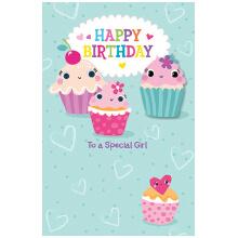 PREMIUM BIRTHDAY Female Juvenile Cupcakes