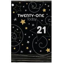 PREMIUM BIRTHDAY Male 21 Stars