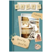 PREMIUM BIRTHDAY Male Boat Album