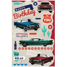 PREMIUM BIRTHDAY Male Vintage Cars