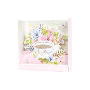 Paper Pop Blank Tea
