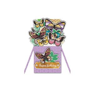Paper Pop Female Birthday Butterfly
