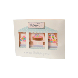 Paper Pop Female Birthday Patisserie