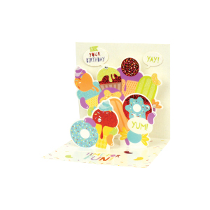 Paper Pop Female Birthday Sweets