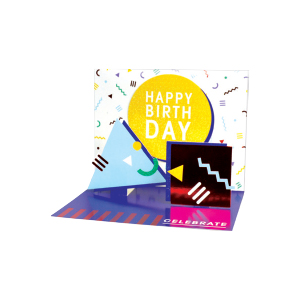 Paper Pop General Birthday Hip Hip Hooray