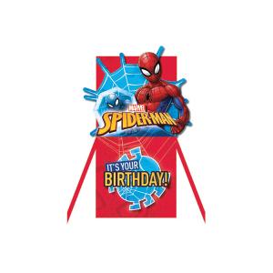 Paper Pop Juvenile Boy Spiderman