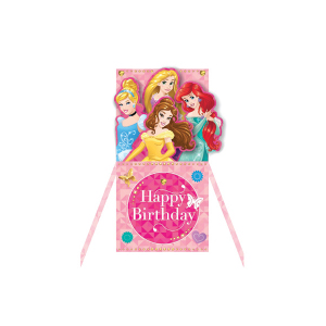 Paper Pop Juvenile Girl Disney Princesses