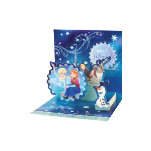 Paper Pop Juvenile Girl Frozen
