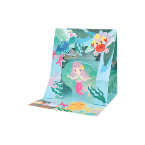 Paper Pop Juvenile Girl Mermaid