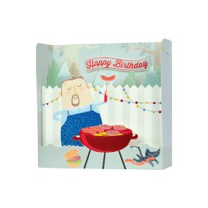 Paper Pop Male Birthday BBQ