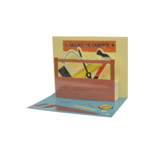 Paper Pop Male Birthday Tools