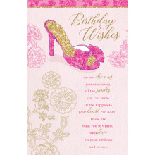 WHOLEHEARTEDLY Birthday Wishes Heels