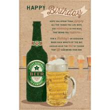 WHOLEHEARTEDLY Happy Birthday Beer