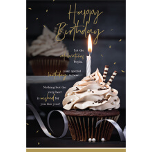 WHOLEHEARTEDLY Happy Birthday Cupcake candle