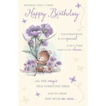 WHOLEHEARTEDLY Happy Birthday Lavendar