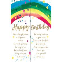 WHOLEHEARTEDLY Happy Birthday Rainbow